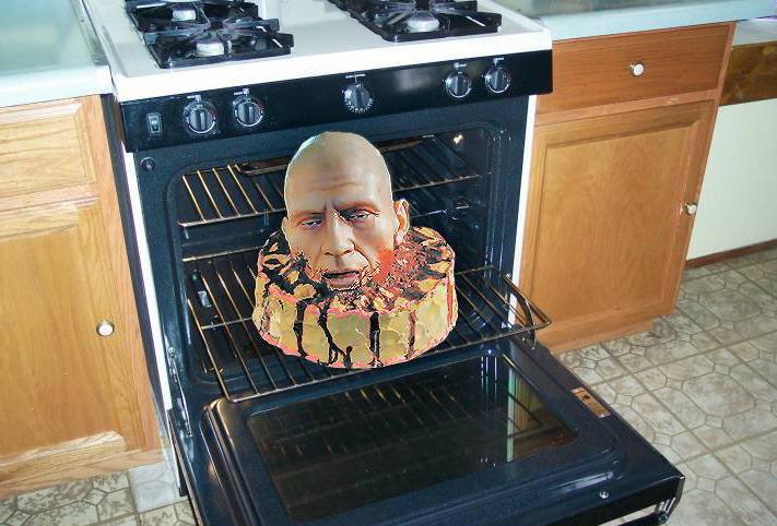 Halloween Oven Head
