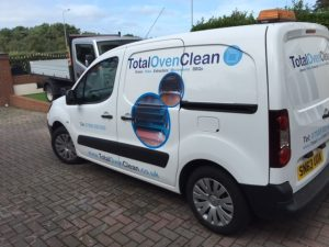 Total Oven Clean Van Design Training Course Pack Cleaning